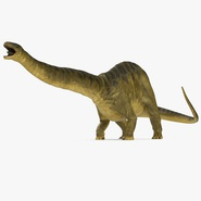 Apatosaurus Dinosaur Fighting Pose