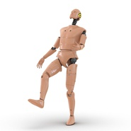 Male Crash Test Dummy Rigged for Cinema 4D. Preview 15