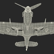 Royal Air Force Fighter Supermarine Spitfire LF Mk IX Rigged. Preview 26