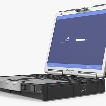 Panasonic Toughbook. Render 2