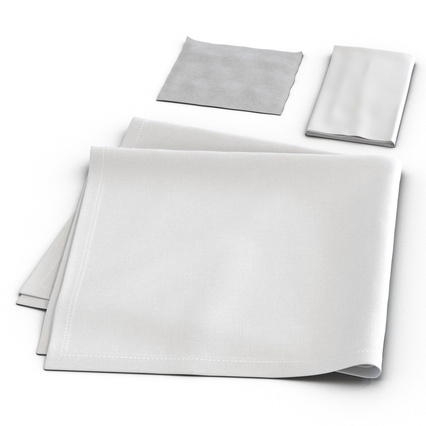 Napkins Collection. Render 10