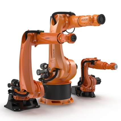 Kuka Robots Collection 5. Render 18