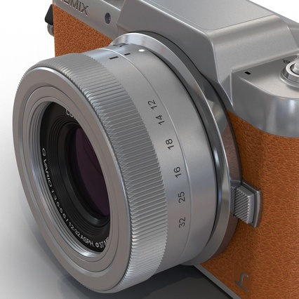 Panasonic DMC GF7 Brown. Render 35