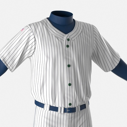 Baseball Player Outfit Generic 8. Render 20