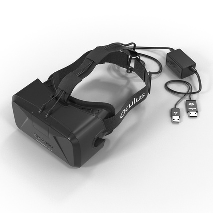Virtual Reality Goggles Collection. Render 17