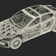 Tesla Model S Frame and Chassis. Preview 10