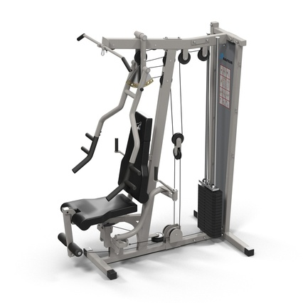 Weight Machine 2. Render 9