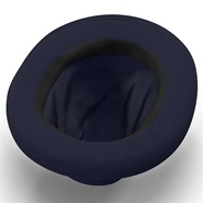 Fedora Hat Blue. Preview 10