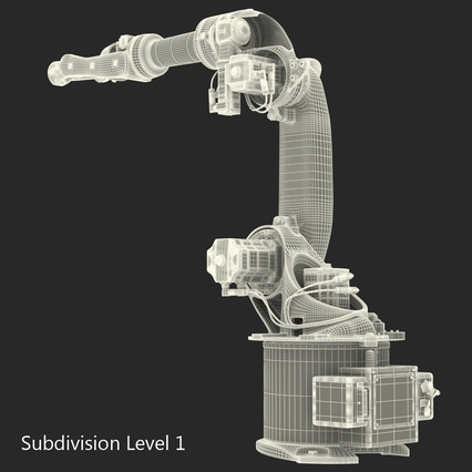 Kuka Robots Collection 5. Render 57