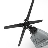 Attack Helicopter Bell AH 1Z Viper Rigged. Preview 75