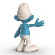 Smurf Rigged for Maya. Preview 21