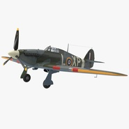 Hawker Hurricane WWII Fighter