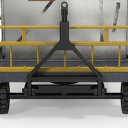 Airport Luggage Trolley Baggage Trailer with Container. Preview 20