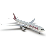 Jet Airliner Airbus A330-300 Qatar Rigged. Preview 27
