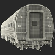 Railroad Amtrak Passenger Car 2. Preview 58