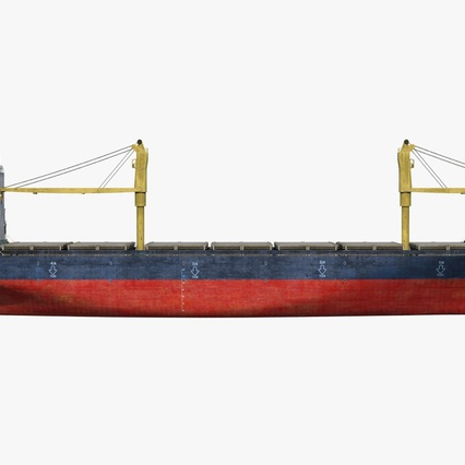 Sea Cargo Ship Generic. Render 3