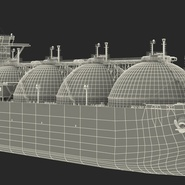 Gas Carrier Ship. Preview 30