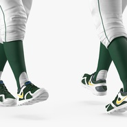 Baseball Player Rigged Athletics for Cinema 4D. Preview 13