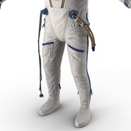 Russian Space Suit Sokol KV2 Rigged. Preview 47
