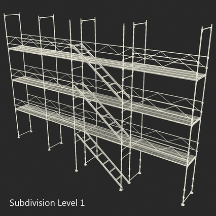 Scaffolding Collection 2. Render 50