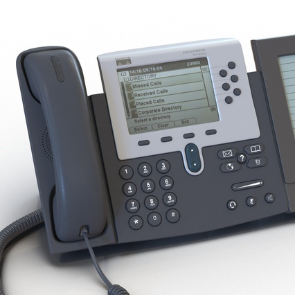 Cisco IP Phones Collection 6. Render 16