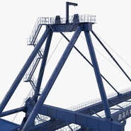 Container Crane Blue. Preview 27