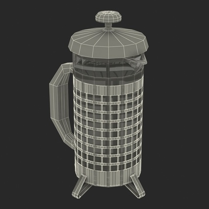 French Press. Render 38