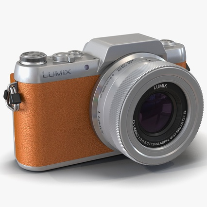 Panasonic DMC GF7 Brown. Render 1