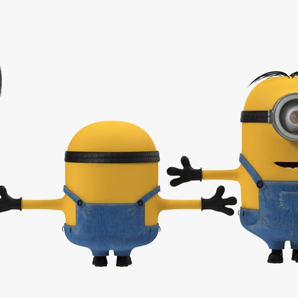 Minions Collection. Render 6