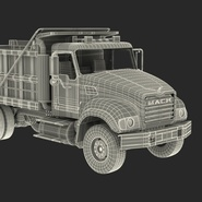 Dump Truck Mack Rigged. Preview 96