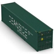 40 ft High Cube Container Green. Preview 13
