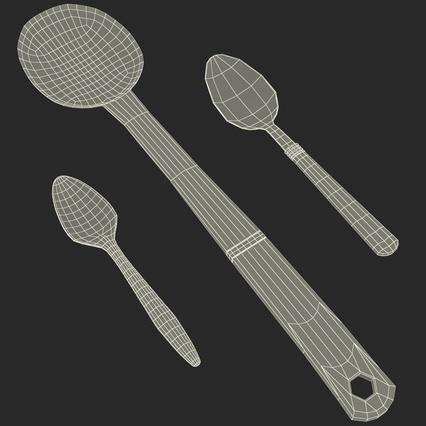 Spoons Collection. Render 50