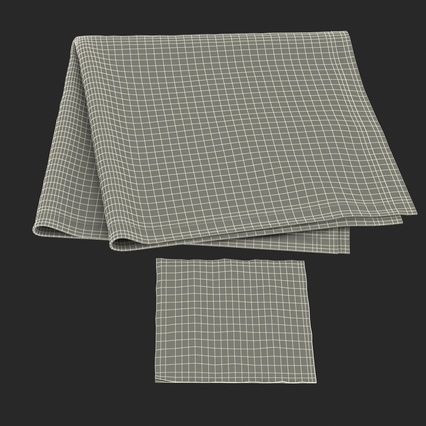 Napkins Collection. Render 38