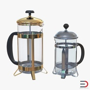 French Press Coffee Pots Collection