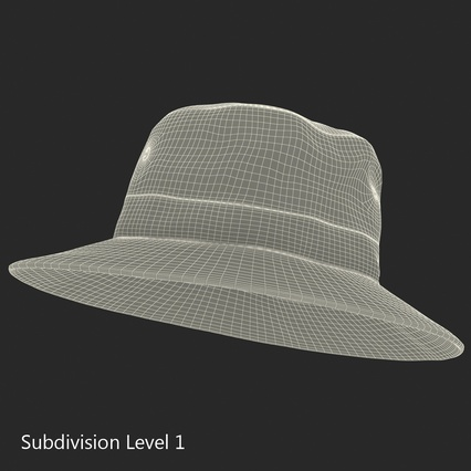 Fishing Hat. Render 19