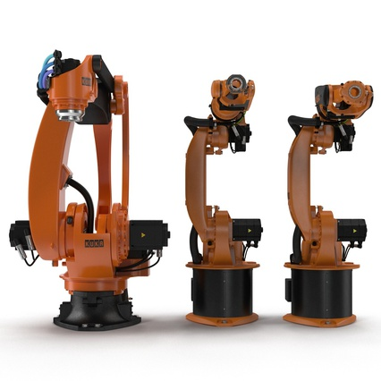 Kuka Robots Collection 5. Render 8