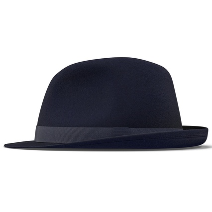 Fedora Hat Blue. Render 7