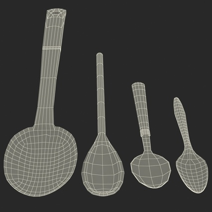 Spoons Collection. Render 44