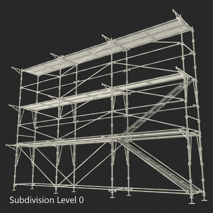 Scaffolding Collection 2. Render 47