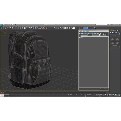 Backpack 2 Generic. Render 26