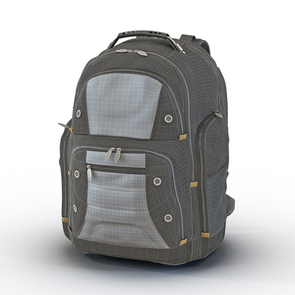 Backpack 2 Generic. Render 3