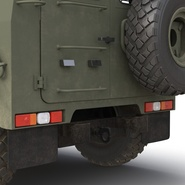 Russian Mobility Vehicle GAZ Tigr M Rigged. Preview 43