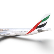 Jet Airliner Airbus A330-300 Emirates Rigged. Preview 41