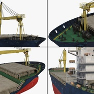Sea Cargo Ship Generic. Preview 17