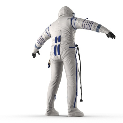Russian Space Suit Sokol KV2 Rigged. Render 23