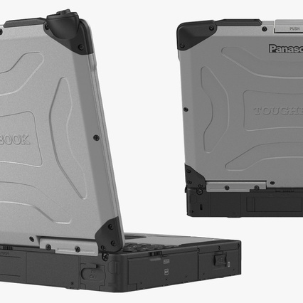 Panasonic Toughbook. Render 8