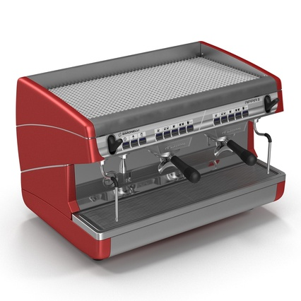 Espresso Machine Simonelli. Render 9