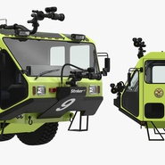 Oshkosh Striker 4500 Aircraft Rescue and Firefighting Vehicle Rigged. Preview 15