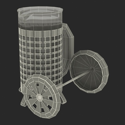 French Press. Render 43