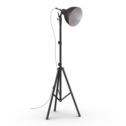 Photo Studio Lamps Collection. Render 32